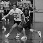Hustling for the Ball