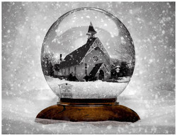 St. Luke's In A Snowglobe