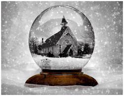 St. Luke's In A Snowglobe