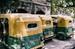 Parked Auto Rickshaws