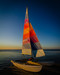 Empty Sailboat